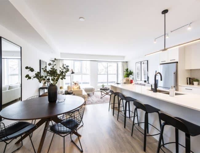 The Logan Residences - Coady Urban Town Model - Living Space 2