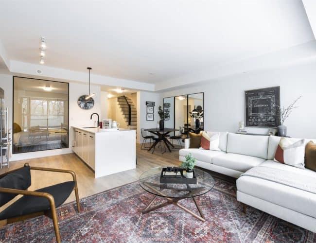 The Logan Residences - Coady Urban Town Model - Living Space