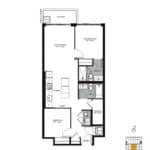The Logan Residences - Gerrard - Floorplan