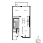 The Logan Residences - McGee - Floorplan