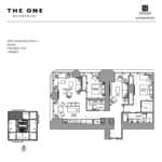The One Condos - Upper Tower Suites 06 - Floorplan