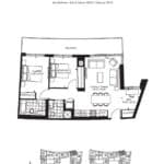 The Point Condos at Emerald City - Brando - Floorplan