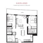 The Point Condos at Emerald City - Garland - Floorplan