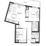 The Point Condos at Emerald City - Valentino - Floorplan