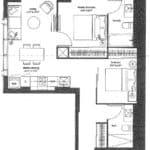 The United BLDG Condos - No 6 - Floorplan