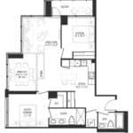 Vanguard Condos - 1601 - Floorplan