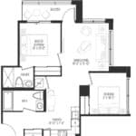 Vanguard Condos - 706 - Floorplan