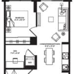 WEST Condos - 1A-D - Floorplan