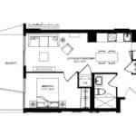 WEST Condos - 1B - Floorplan
