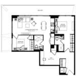 WEST Condos - 2A-D - Floorplan
