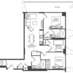 WEST Condos - 3E - Floorplan