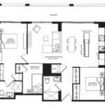 WEST Condos - 3F - Floorplan
