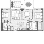 Vanguard Condos - F5 - Floorplan