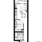 WestBeach Condos - Na'ama Bay - Floorplan