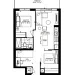 WestBeach Condos - Saline - Floorplan