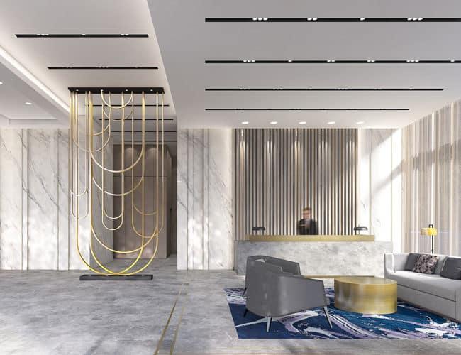 amenities lobby