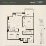 Oak & Co Condos - Cherry - Floorplan