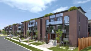 oggi townhomes rendering featured