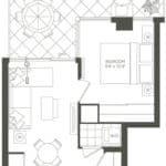 Valhalla Town Square & Park Terraces - B1s - Floorplan