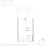 Eau Du Soleil - Sky 59 - Floorplan