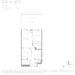 Eau Du Soleil - Sky 65 - Floorplan