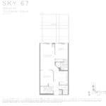 Eau Du Soleil - Sky 67 - Floorplan