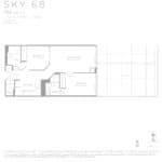 Eau Du Soleil - Sky 68 - Floorplan