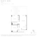 Eau Du Soleil - Sky 69 - Floorplan
