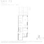 Eau Du Soleil - Sky 73 - Floorplan