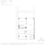 Eau Du Soleil - Sky 75 - Floorplan