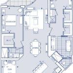 Aqualuna - 2GG+DT - Floorplan