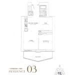 SkyTower at Pinnacle One Yonge Condos - Residence 03 - Floor Plan