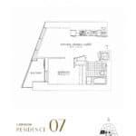 SkyTower at Pinnacle One Yonge Condos - Residence 07 - Floor Plan