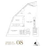 SkyTower at Pinnacle One Yonge Condos - Residence 08 - Floor Plan
