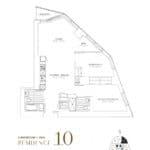 SkyTower at Pinnacle One Yonge Condos - Residence 10 - Floor Plan