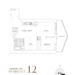 SkyTower at Pinnacle One Yonge Condos - Residence 12 - Floor Plan