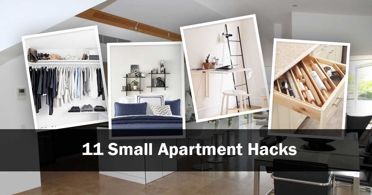 11 Small Apartment Hacks