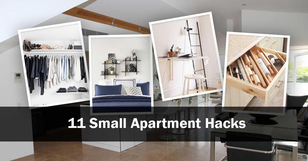 11 Small Apartment Hacks