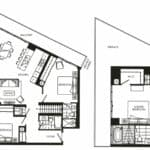 Fortune at Fort York - Penthouse 03 - Floorplan