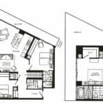 Fortune at Fort York - Penthouse 03 - Floorplan