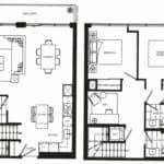 Fortune at Fort York - Suite 339 - Floorplan