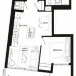 Fortune at Fort York - Penthouse 10 - Floorplan