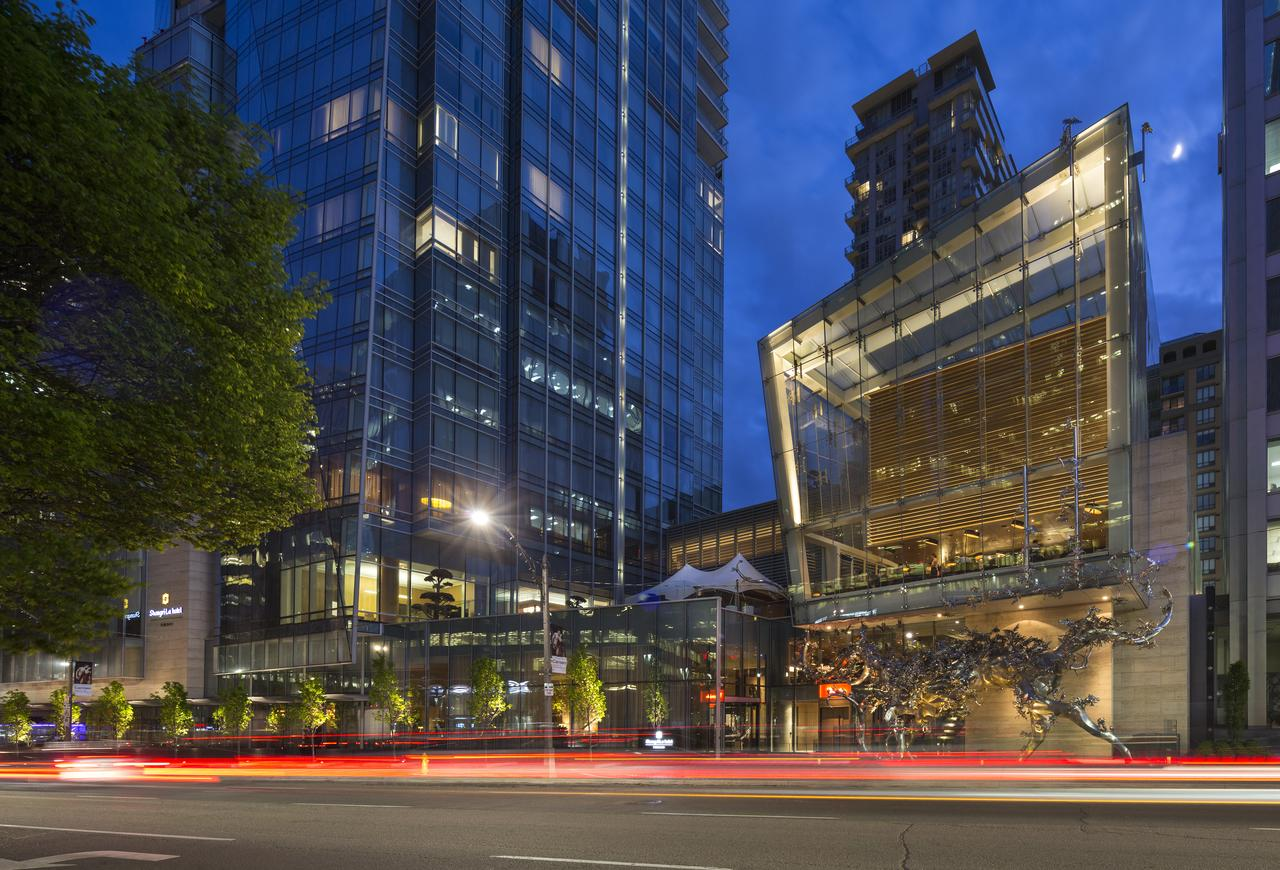 The Shangri La Condos Lobby in Toronto's Entertainment District