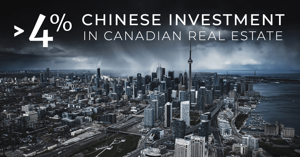 Chinese Investment in Toronto and Canadian Real Estate Skyline Photo