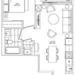 Scout Condos - A5 - Floorplan