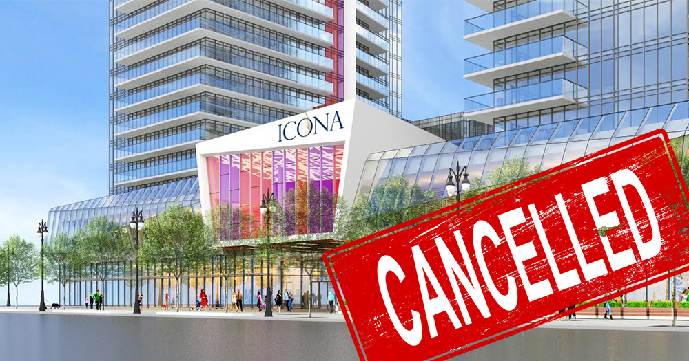 Icona Condos in Vaughan Cancelled