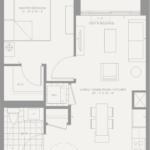 Condonow - Suite 203 - Floorplan