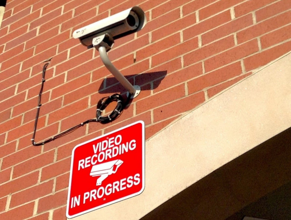 CCTV recording privacy