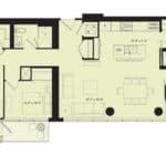88 Scott Condos - E9 - Floorplan
