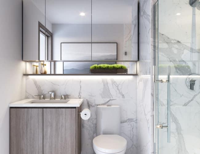 Central Condos - Bathroom - Interior Render